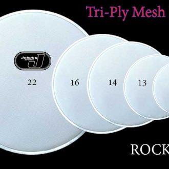 jobeky fusion tri ply mesh head set 10 12 14 14 20 jobeky drums electronic drums. Black Bedroom Furniture Sets. Home Design Ideas