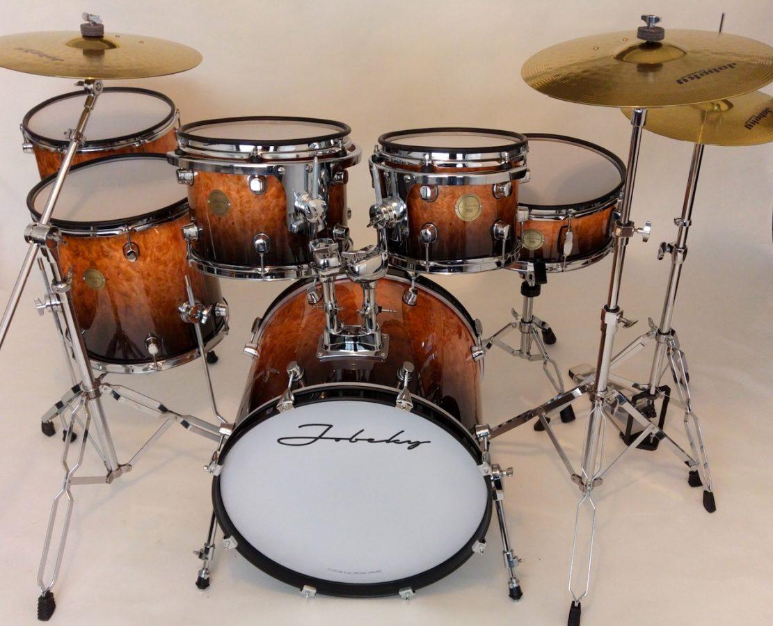 jobeky prestige custom electronic complete drum kit jobeky drums electronic drums. Black Bedroom Furniture Sets. Home Design Ideas