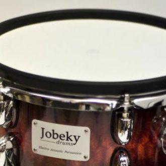 13 inch rubber rim jobeky drums electronic drums electronic drum kits. Black Bedroom Furniture Sets. Home Design Ideas