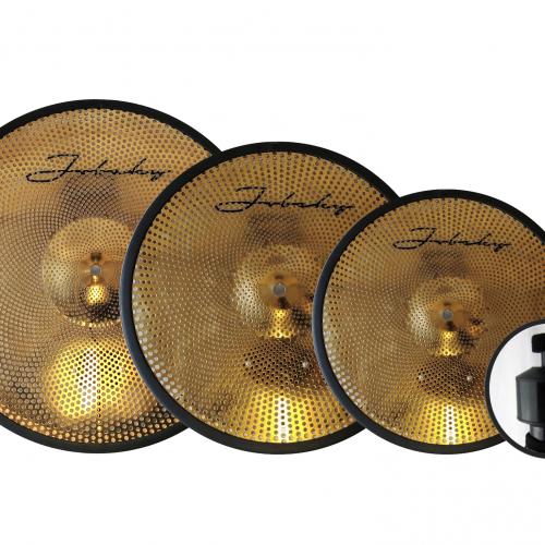 14 18 20 jobeky low volume real feel electronic cymbal set hats crash ride jobeky drums. Black Bedroom Furniture Sets. Home Design Ideas