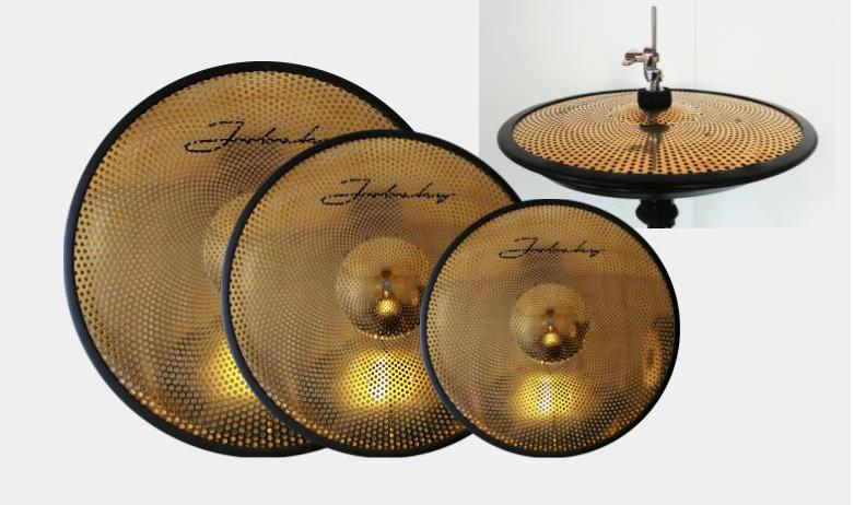 14 16 18 jobeky low volume real feel electronic cymbal set hats crash ride jobeky drums. Black Bedroom Furniture Sets. Home Design Ideas