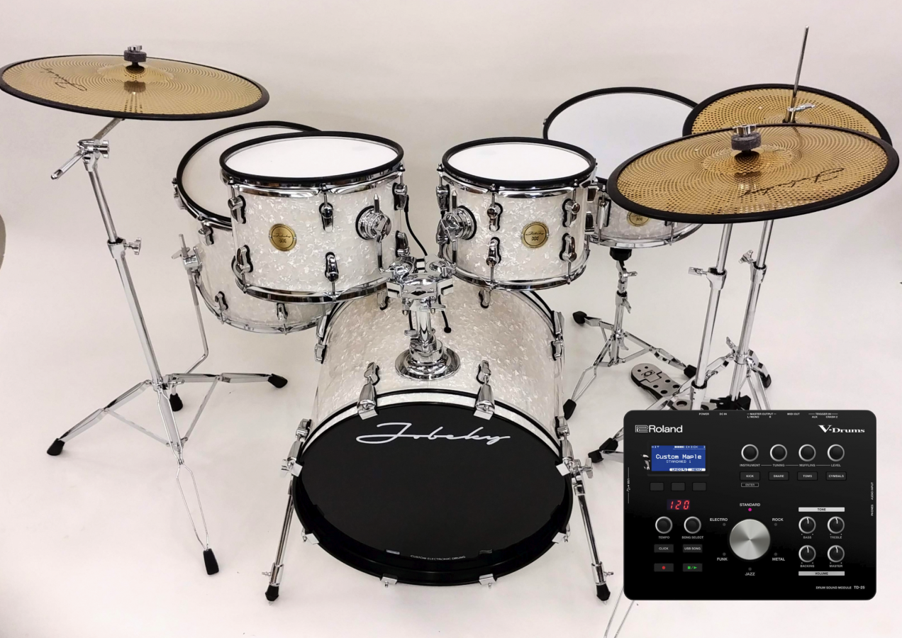 * NEW *Jobeky Roland TD-25 Compact Pro Electronic Drum Kit