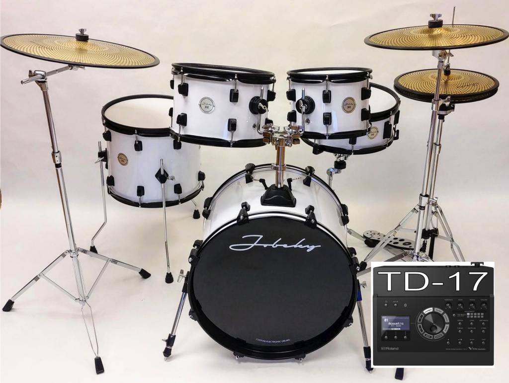Ljb Drum Accessories : new jobeky roland td 17 compact pro electronic drum kit black hardware jobeky drums ~ Vivirlamusica.com Haus und Dekorationen